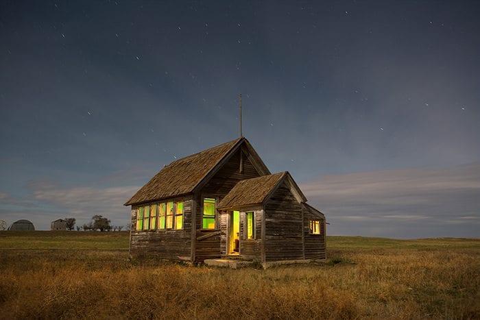 Little Missouri Schoolhouse