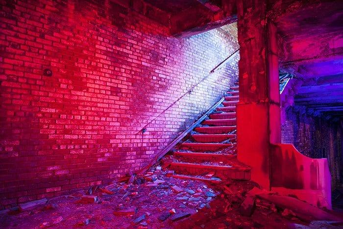 Memorial Stairs Gary