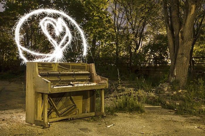 Sparkler Piano