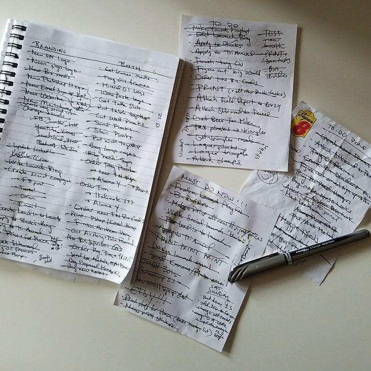 The Flash Nites To-Do List