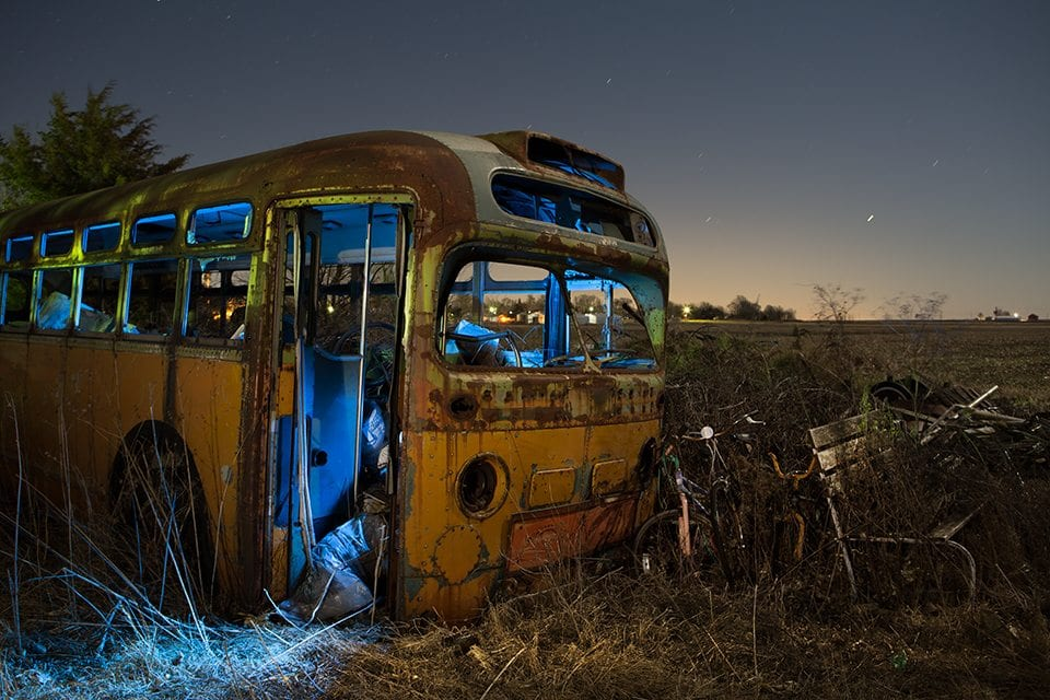Abandoned Bus Illinois