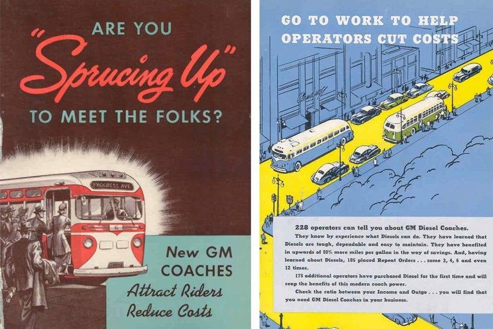 GM Old Look Buses