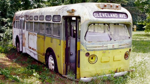 Rosa Parks Bus Field