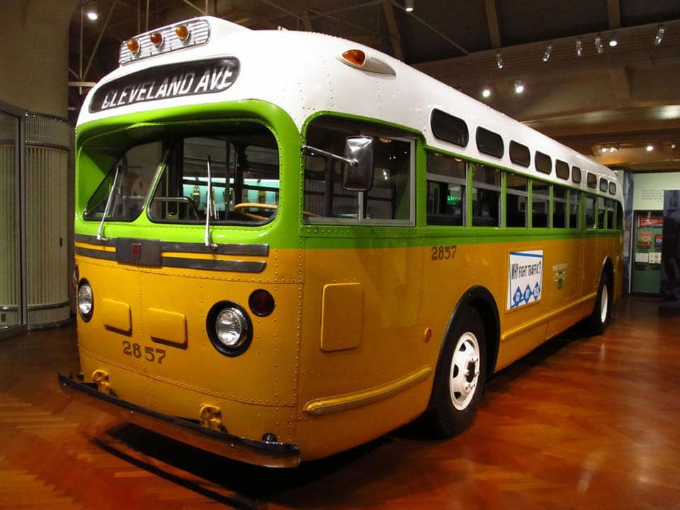 Rosa Parks Bus Restored