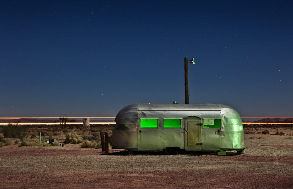 Bagdad Airstream - Newberry Springs, CA - The Flash Nites