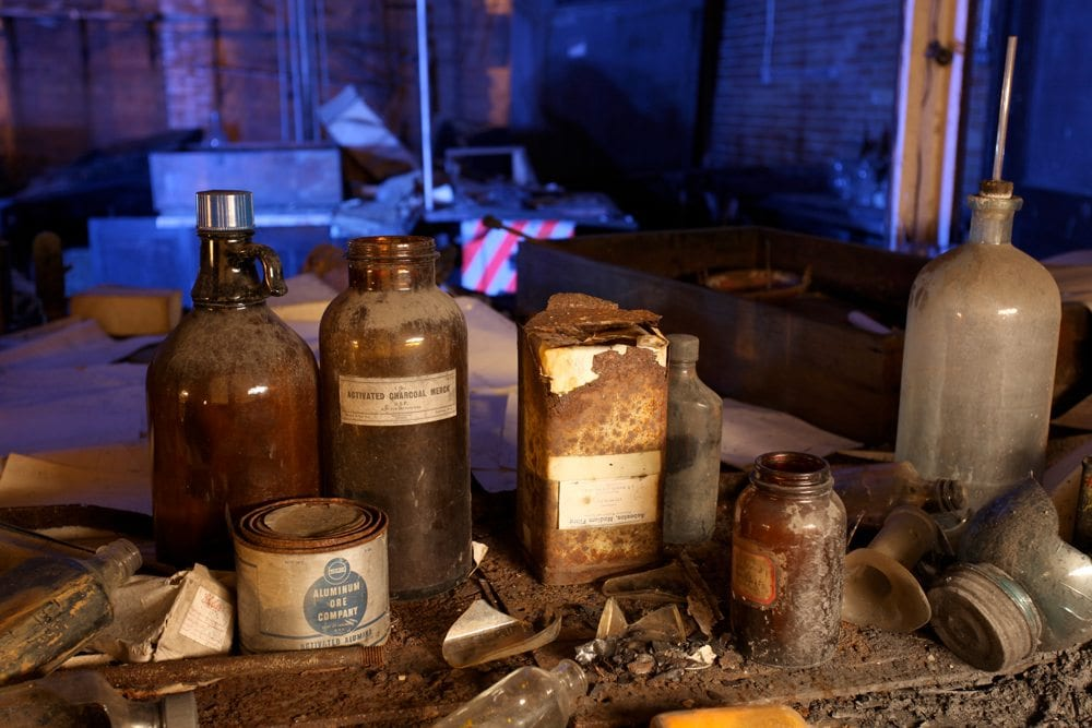 Chem Lab - Gary, Indiana - The Flash Nites
