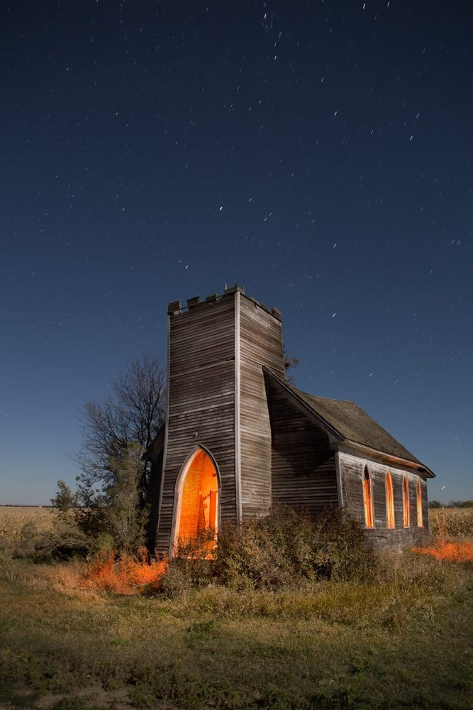 Deisem Church - North Dakota - The Flash Nites
