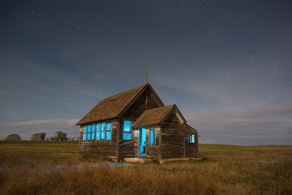 Missouri Schoolhouse - North Dakota - The Flash Nites