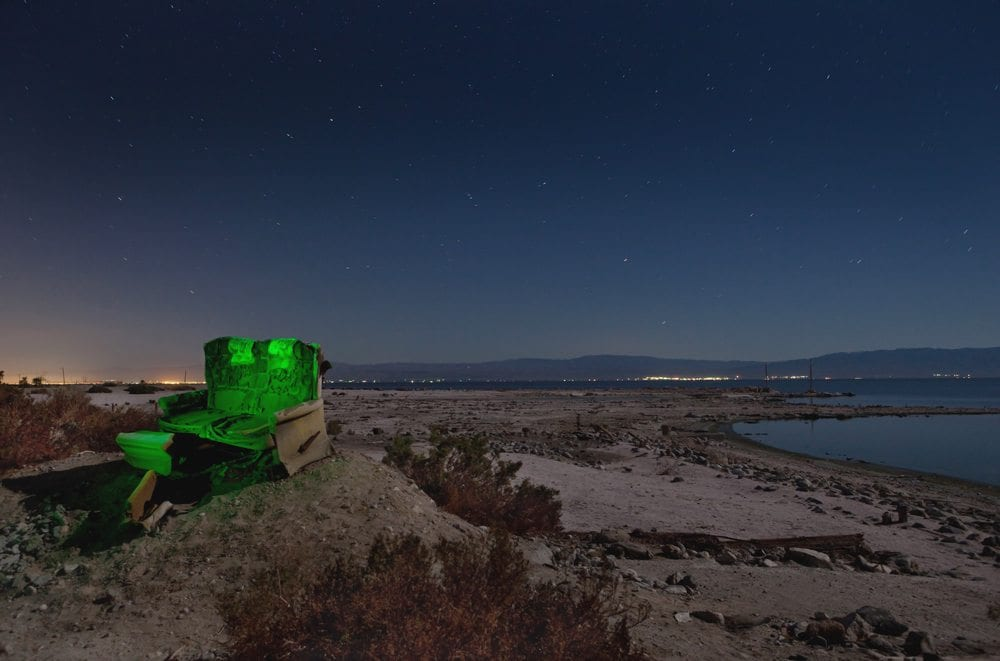 Best Seat in the House - Salton Sea