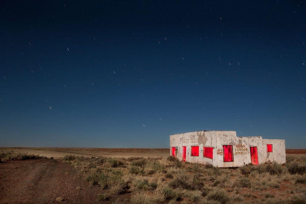Painted Desert Trading Post Close - Arizona