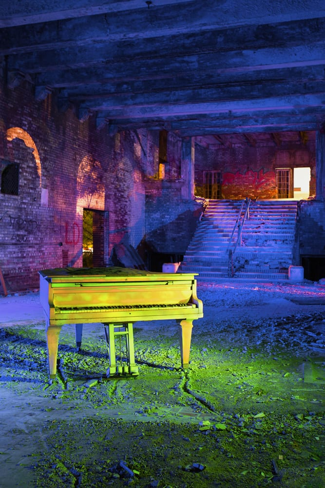 Memorial Piano - Gary, IN