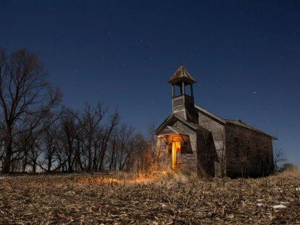 Tekamah Schoolhouse - Nebraska - The Flash Nites