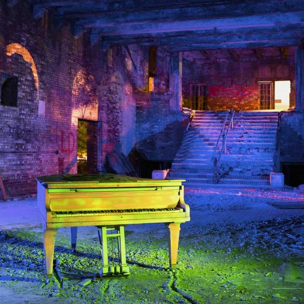 Memorial Piano - Gary, Indiana - The Flash Nites