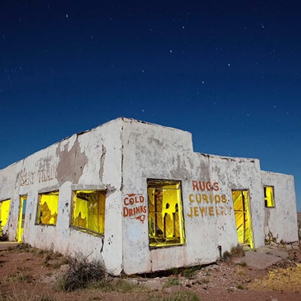 Painted Desert Trading Post - Arizona - The Flash Nites