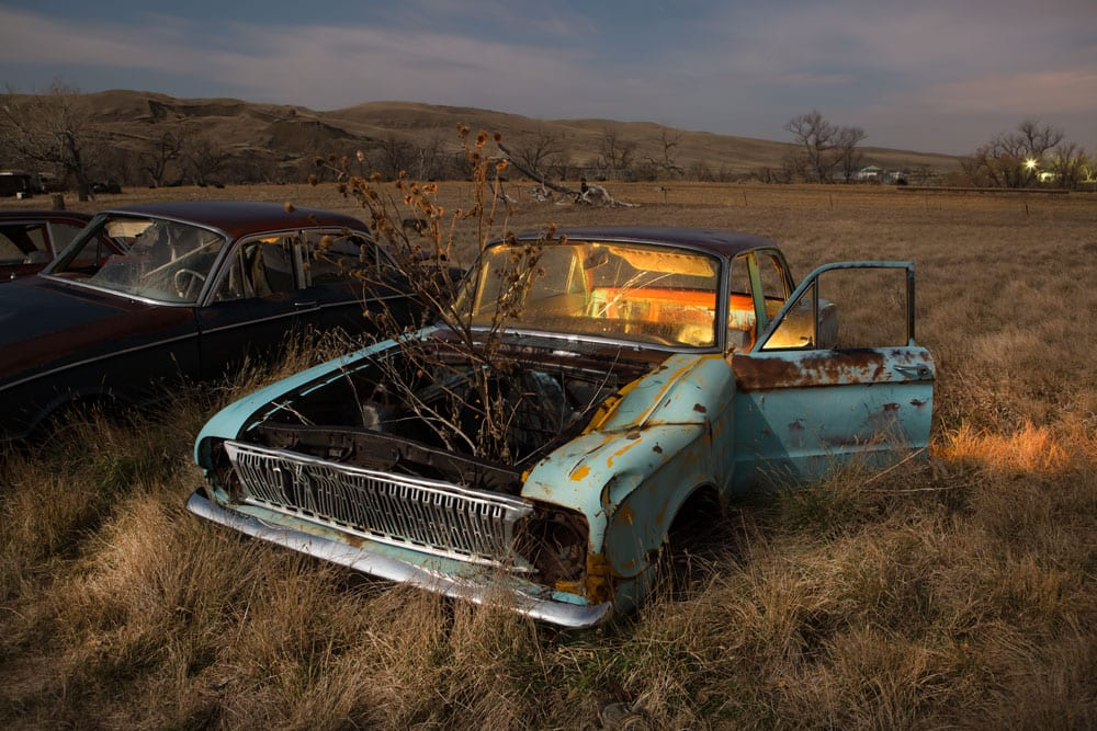 Ford Falcon - Owanka, South Dakota - The Flash Nites