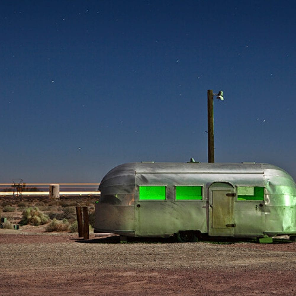 Bagdad Airstream - Newberry Springs, California - The Flash Nites