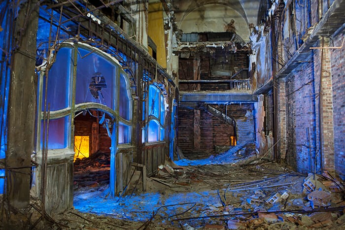 Palace Vestibule - Gary, Indiana - The Flash Nites
