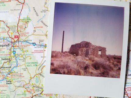 Two Guns Mountain Lions Polaroid