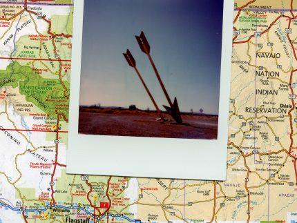 Twin Arrows Trading Post polaroid