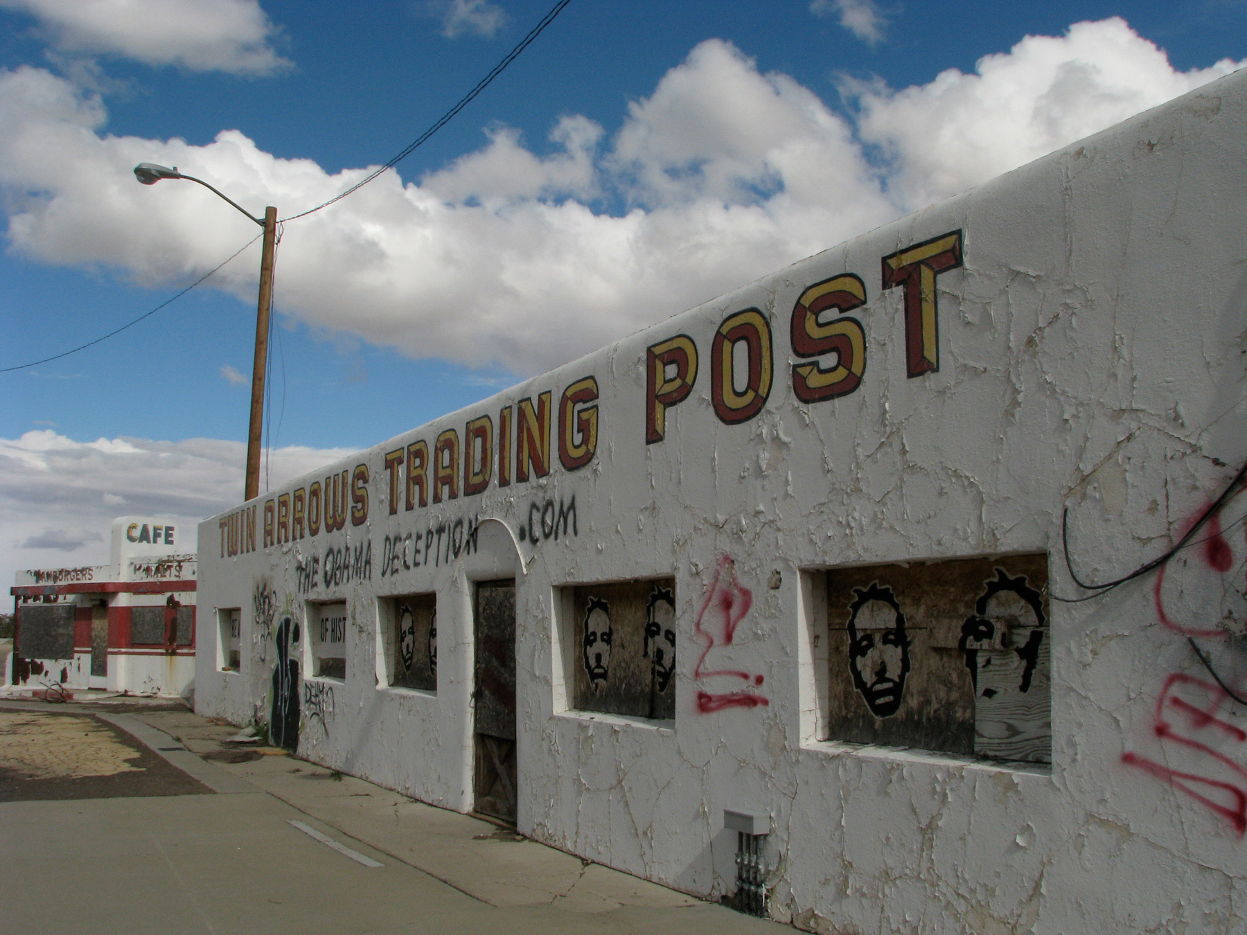 Twin Arrows Trading Post 2010