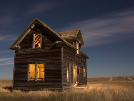 Night at the Ramsfield - Alamo, North Dakota - Alamo, North Dakota
