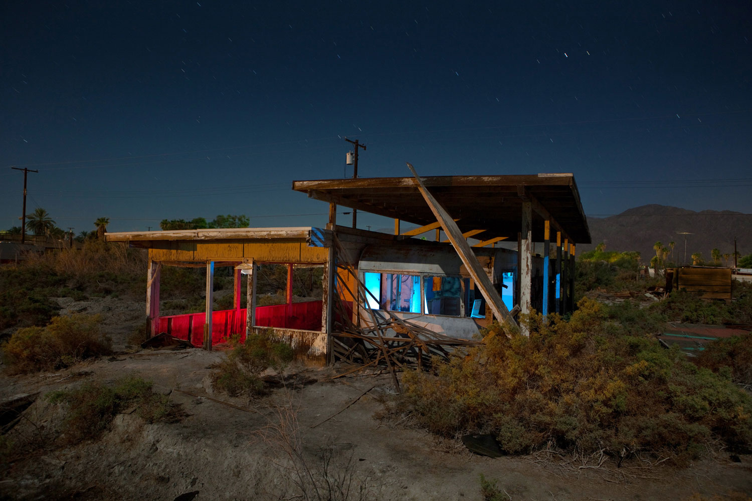 Brawley Avenue - Salton Sea - The Flash Nites