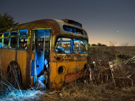 Lost Bus - Lostant, Illinois - The Flash Nites
