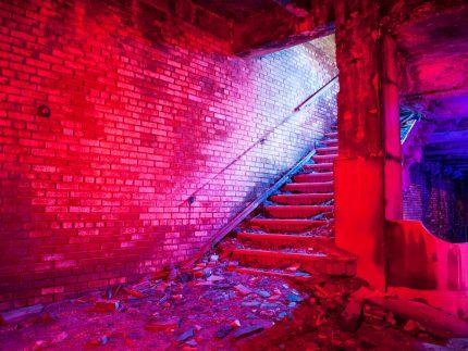 Memorial Stairs - Gary, Indiana