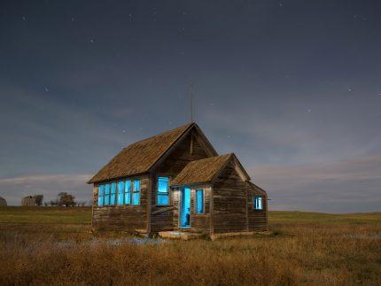 Missouri Schoolhouse - North Dakota