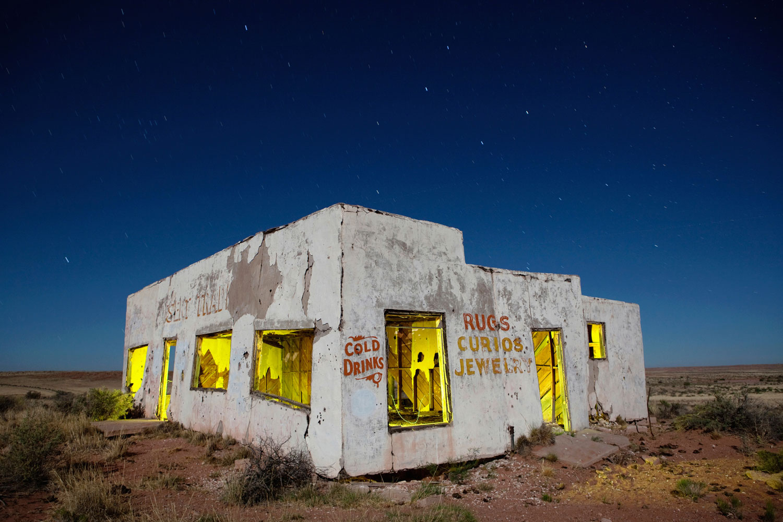 Painted Desert Trading Post - Arizona - The Flash Nites
