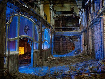 Palace Vestibule - Gary, Indiana - The Flash Nites