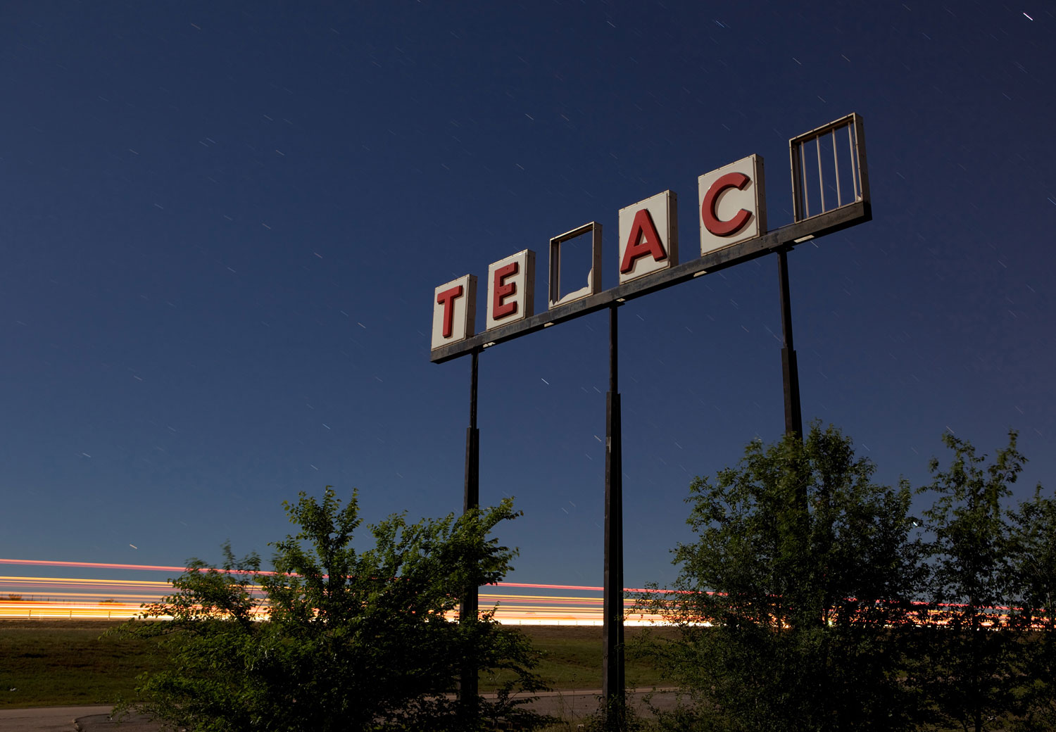 Texaco - Hydro, Oklahoma - The Flash Nites