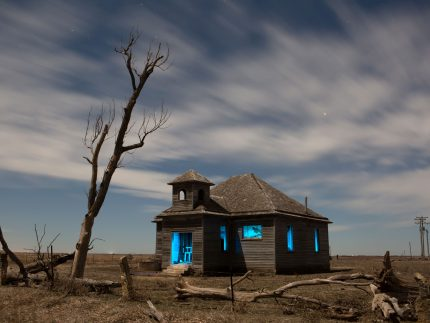 Winterset Schoolhouse - Dubuque, Kansas - The Flash Nites